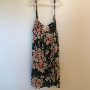 Billabong Floral Coverup Dress